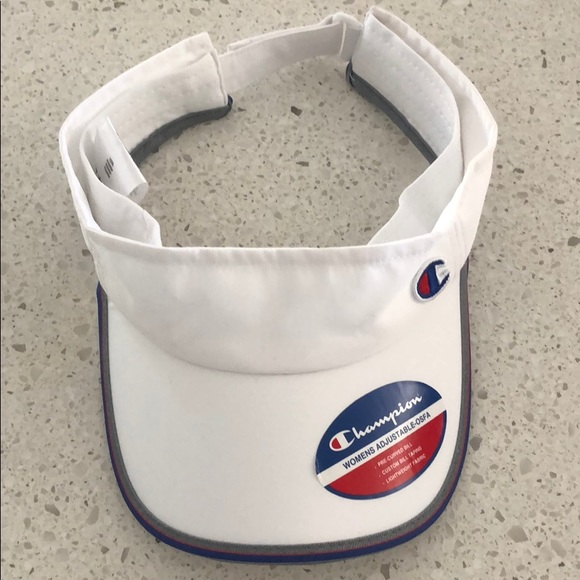 Champion Accessories - Champion white visor b472cbce1bd
